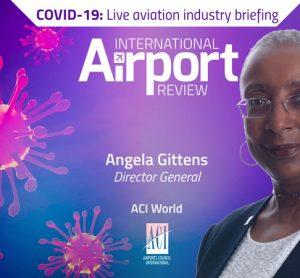 COVID-19 Angela Gitten live briefing