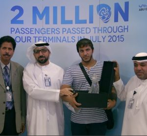 Abu Dhabi International Airport records 2 million passengers during July 2015