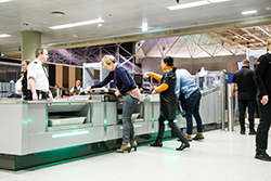 Advanced Passenger Checkpoint solution at Keflavík Airport in Iceland.PAX OPTIMA