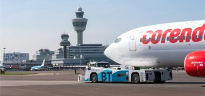 Amsterdam Airport Schiphol trials sustainable aircraft taxiing