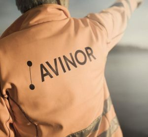 Avinor logo on jacket