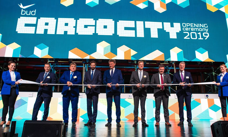 BUD Cargo City completed and opened at Budapest Airport