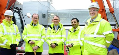 Birmingham Airport departure lounge extension begins construction