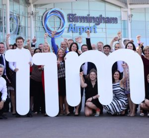 History made at Birmingham Airport as it records 11m passengers in 12 months