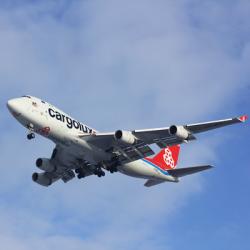 Boeing 747-8 cargo freighter