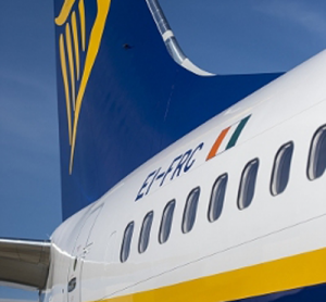 Boeing and Ryanair celebrate a milestone