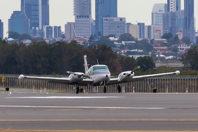 Brisbane Airport begins flight checks on new runway