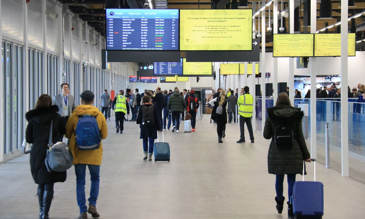 Budapest Ferenc Liszt Airport opens new boarding hall