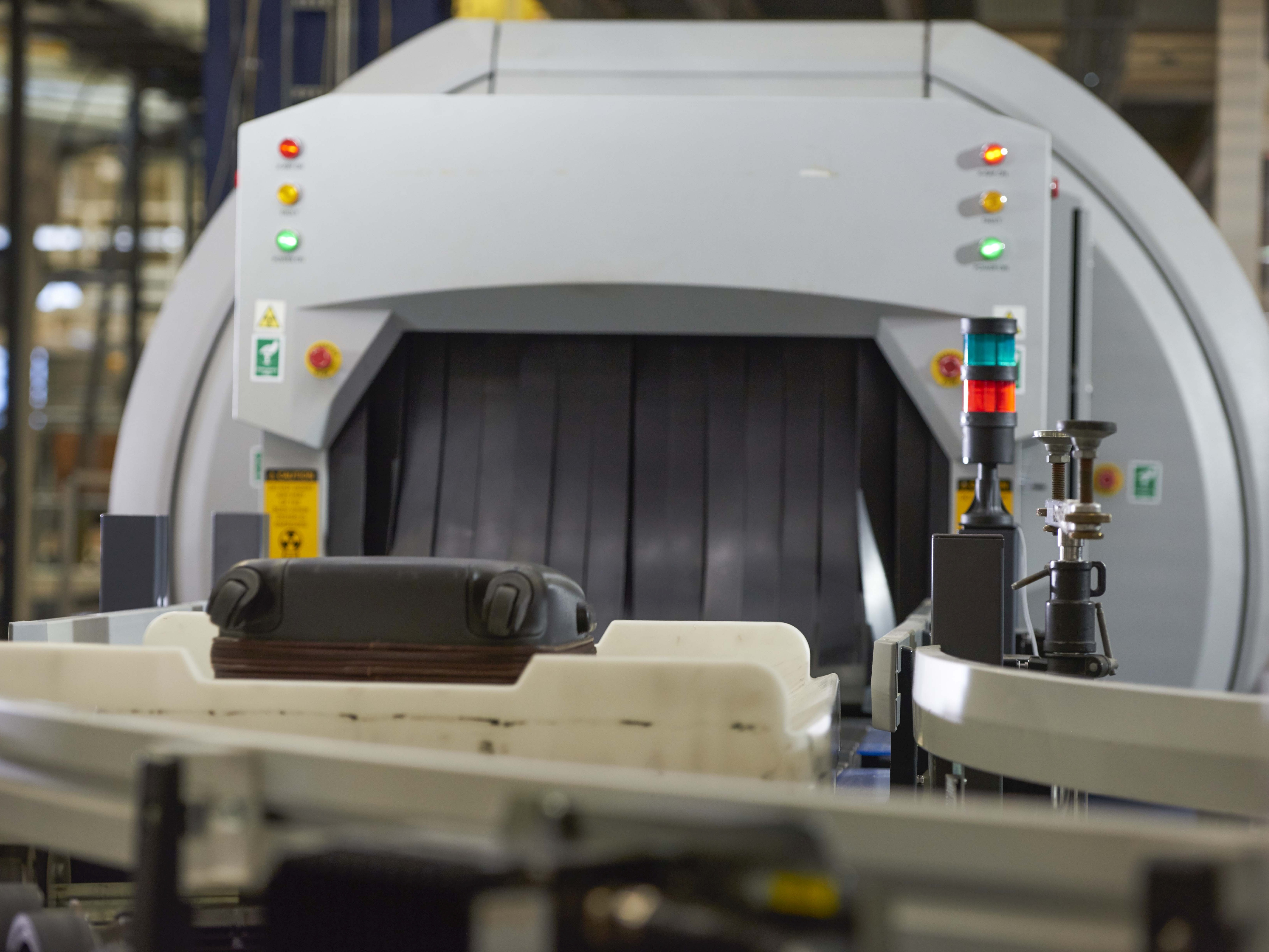 Airport Baggage Handling Scan : Beumer offers virtual reality tours of baggage handling
