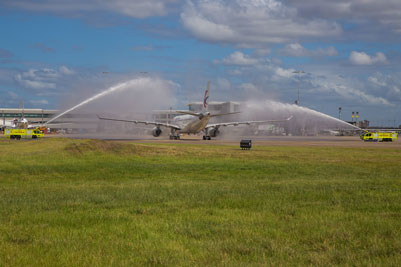 China Eastern touches down at Brisbane