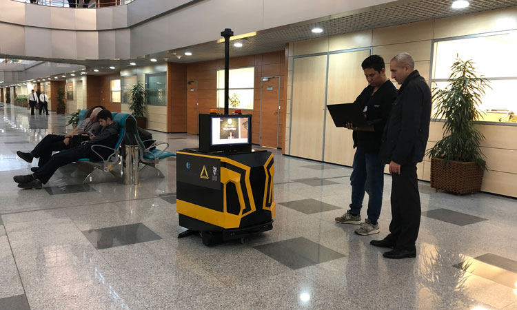 Cleaning robots trialled at Domodedovo Airport