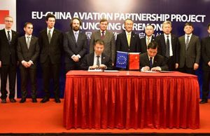 Cooperation leads to EU-China Aviation Partnership Project
