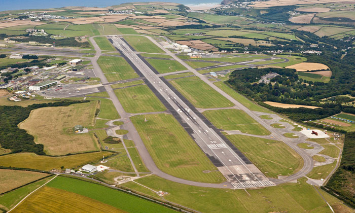 Cornwall Airport Newquay strengthens links to Germany