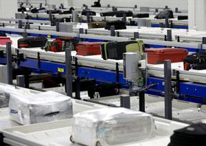 CrisBag high speed baggage handling system