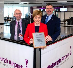 Gateway to Scotland expansion has been officially opened by First Minister