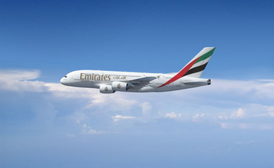 Emirates introduce Airbus A380 on routes to Washington D.C.