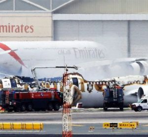 Emirates Plane Crash Dubai August 2016