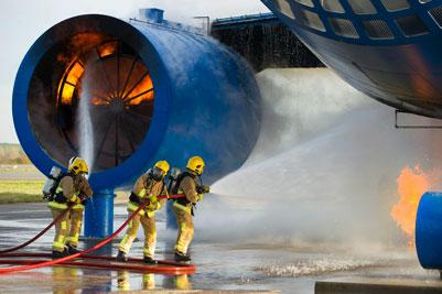 Scotland's biggest fire training simulator launched