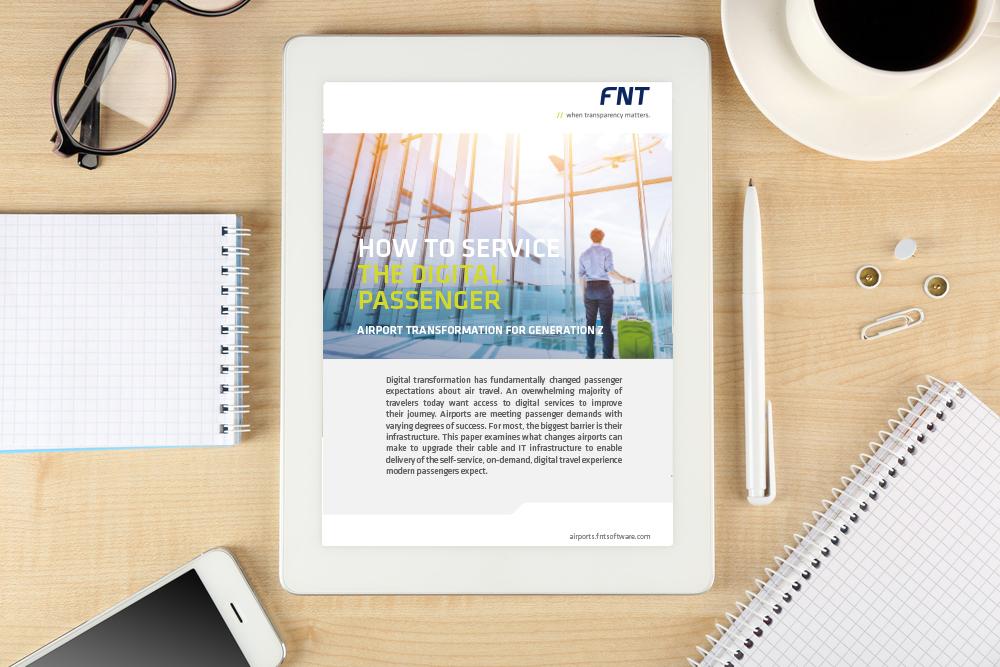 FNT GmbH Whitepaper Image - Digital Passenger