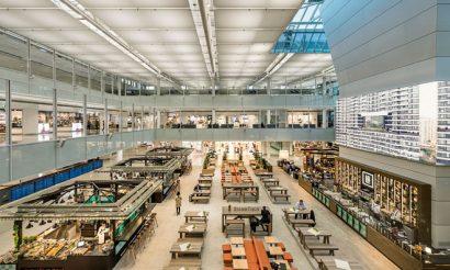 Munich airport terminal satellite flughafen münchen