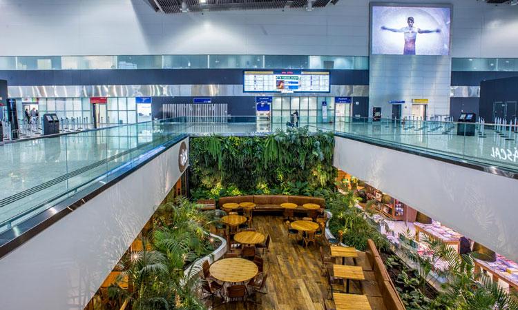 Inside GRU Airport