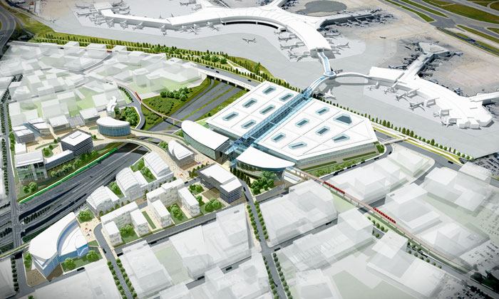 Greater Toronto Airports Authority releases RFP for transit centre design