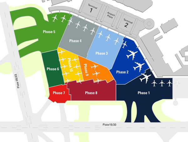 Hamburg Airport invests 120m for renewal of the main apron