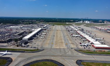 View of Hartsfield–Jackson Atlanta International Airport's runway