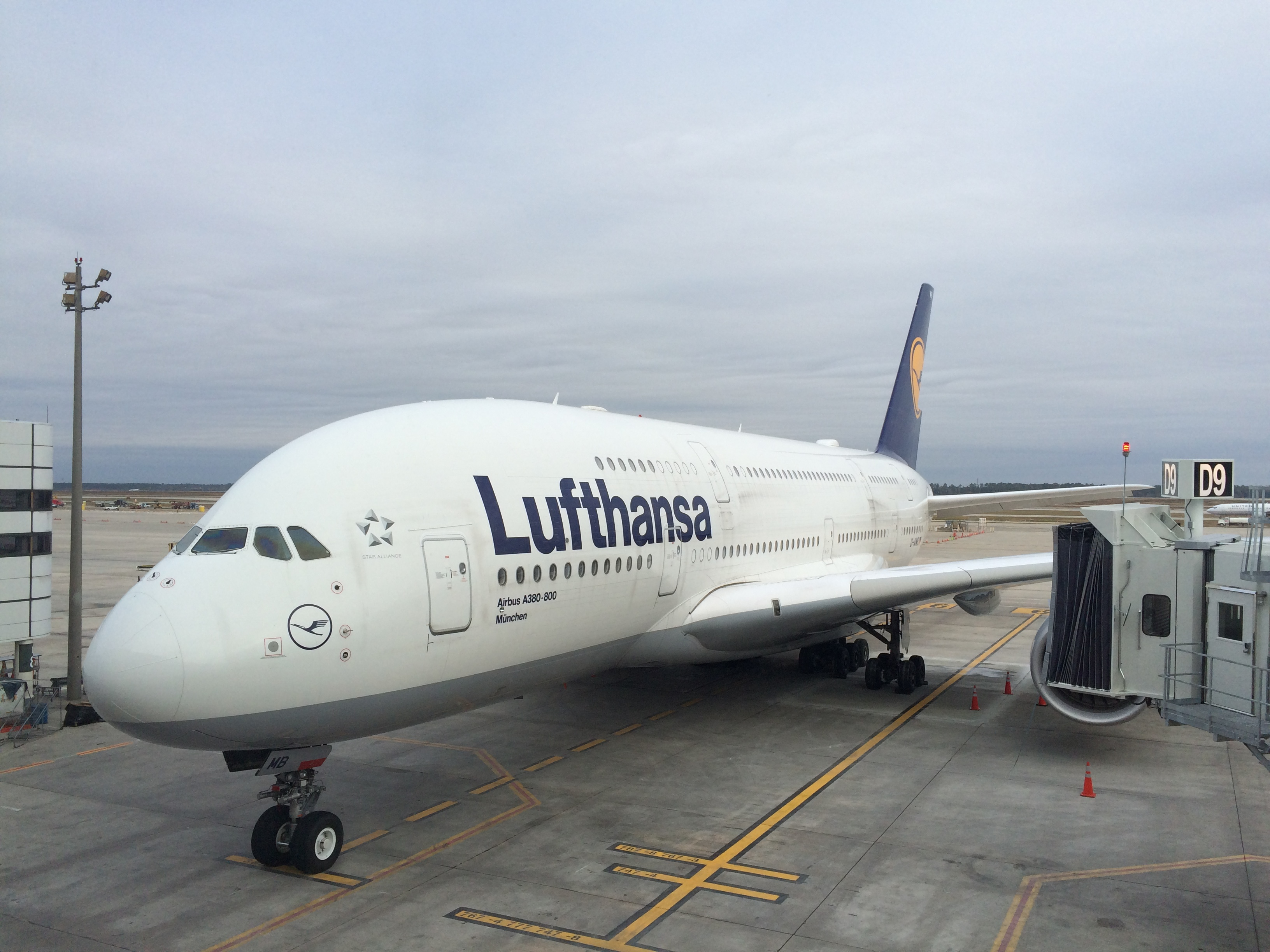 Houston's approach to accommodating the Airbus A380
