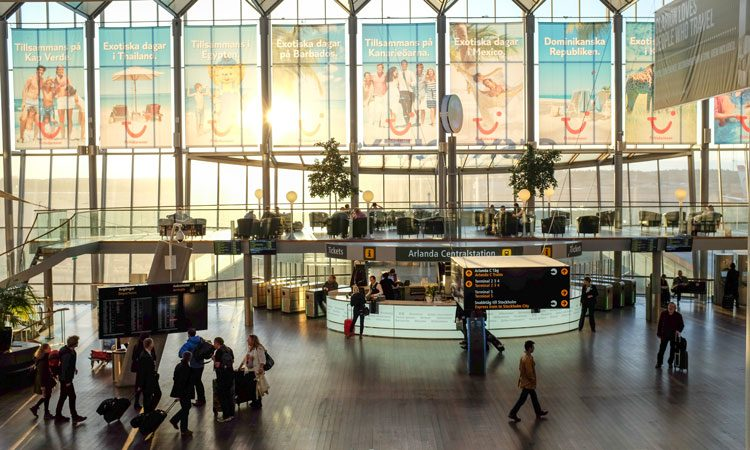 Swedish airports endeavour to use new technologies