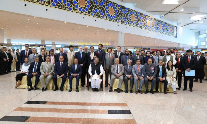Islamabad International Airport opens for business after