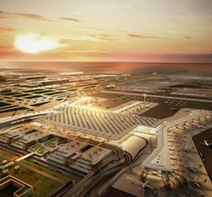 Istanbul New Airport shortlisted for Architectural Award