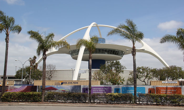 Los Angeles LAX airport - 4th largest airport in the world by passenger number