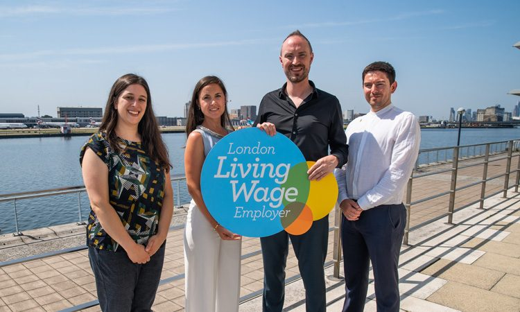London City Airport receives second living wage accolade