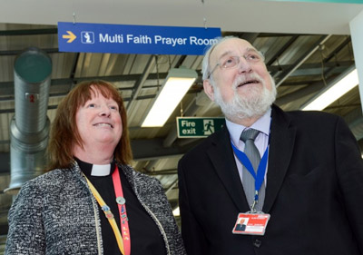 London Luton Airport opens new multi-faith airside Prayer Room