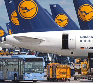 Munich Airport reports traffic increase