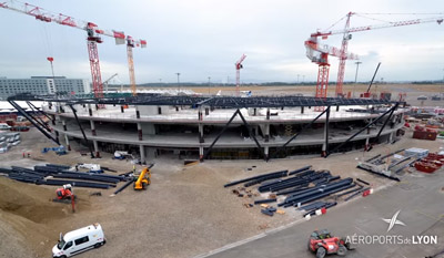 Lyon Airports Terminal 1 extension
