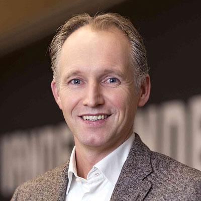 Mark Lakerveld, Executive Director of Global Markets at Vanderlande