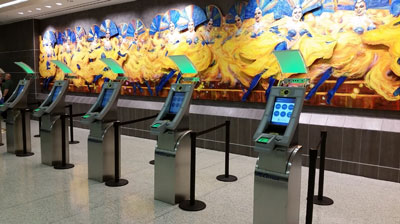 McCarran International installs next-generation automated passport control kiosks