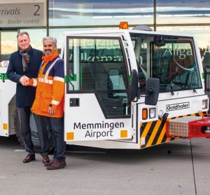 Memmingen Airport introduces zero-emission aircraft tow tractor