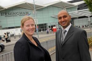 Birmingham airport grants meteor meet and greet official status meteor at birmingham airport m4hsunfo