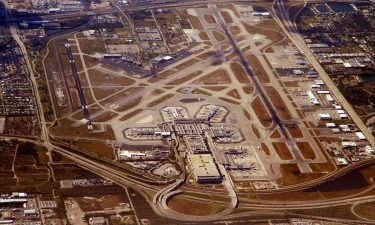 Arial view of Miami International Airport