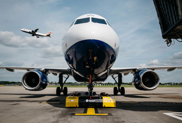 British Airways replace diesel-chugging tug with eco