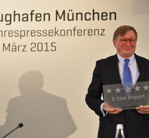 Munich Airport awarded five stars by Skytrax Institute