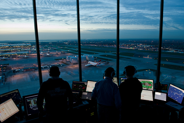 NATS reports an increase in UK air traffic