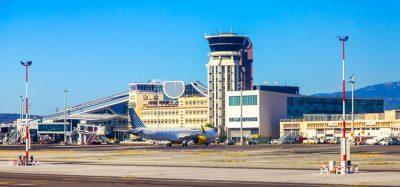Health measures at Nice Cote airport
