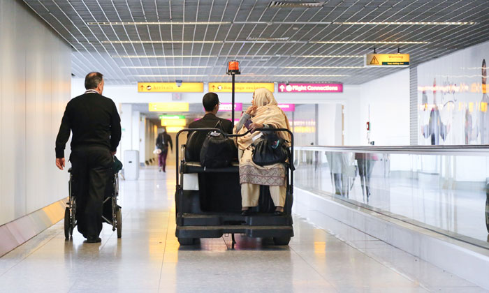 An exclusive tour of PRM operations at London Heathrow