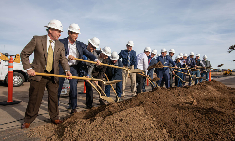 Prescott Regional Airport begins construction on new passenger terminal