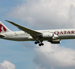 Qatar Airways 747