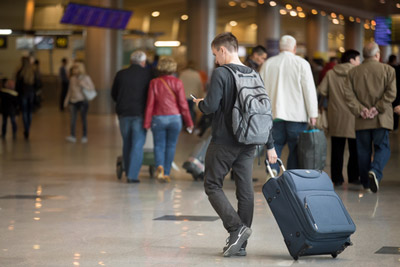 Real-time Wait Times at Airport Processes Reduces Passenger Frustration
